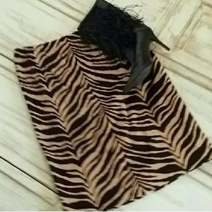 Talbots zebra print